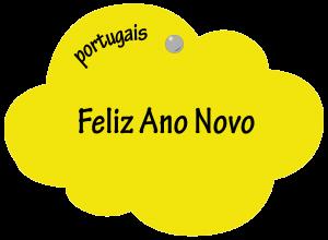 Feliz Ano Novo en portugais