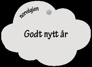 Godt Nytt år en norvégien