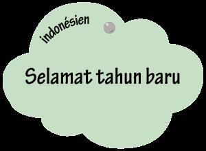 Selamat Tahun Baru en indonésien