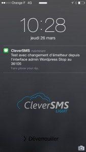 personnalisation expéditeur sms
