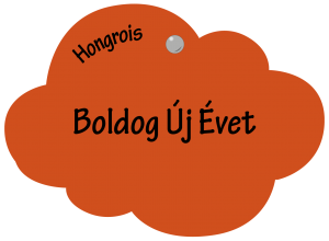 Boldog Új Évet en hongrois