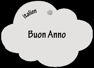 Buon Anno en italien