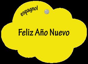 Feliz Año Nuevo en espagnol