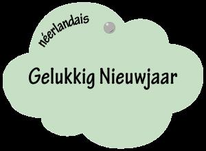 Gelukkig Nieuwjaar en néerlandais