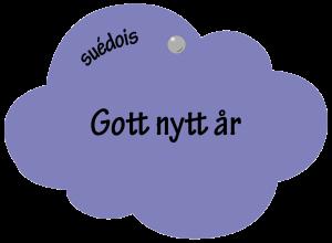 Gott Nytt år en suédois